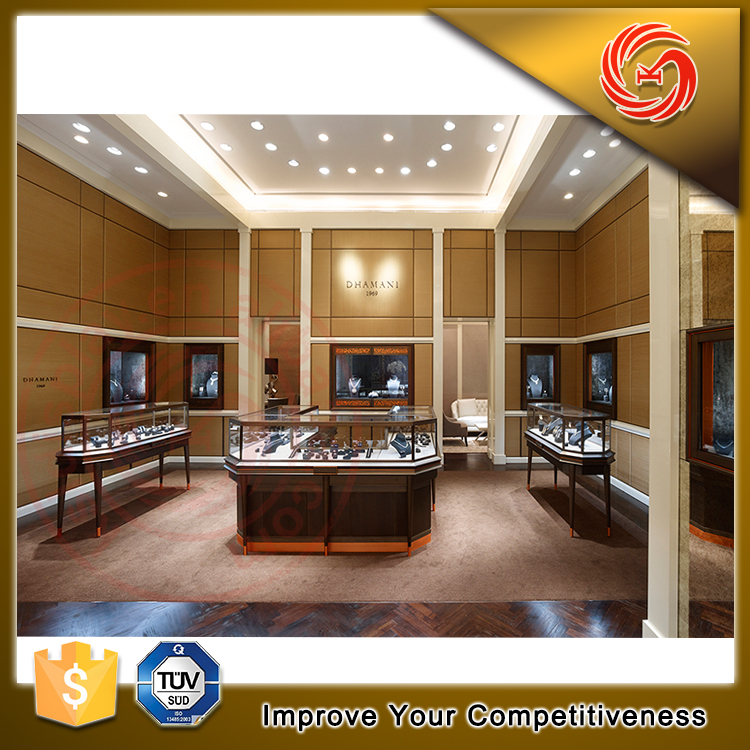 New products jewellery store interior layout design jewelry display furniture