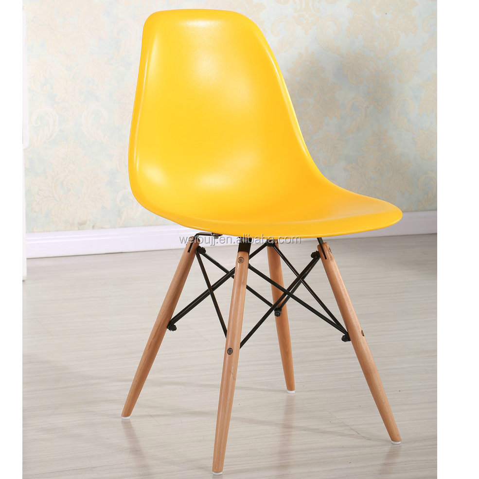 hot sale dining room colorful plastic dining chair