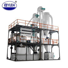 YUDA aquatic sinking or floating fish feed mill/pellet production line/plant