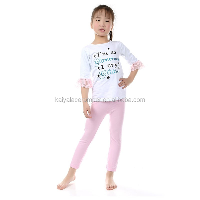 2016 Spring Wholesale Women Dress Children Clothing Sets Comfortable Cotton Outfits For Kids