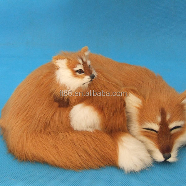 Promotion Cheap Top Quality Stuffed Soft Cute plastic fox toy