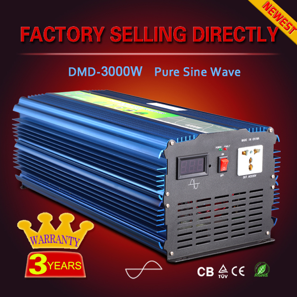 Excellent single output converter 24v 36v 48v dc to 220v ac for solar system