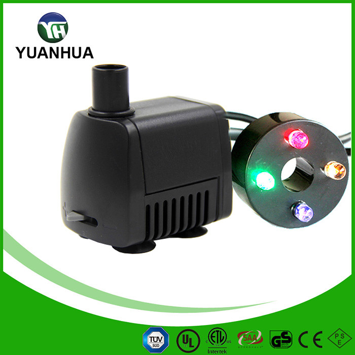 Replacement Pump Lights : Pt mix low voltage fountain pump with led light buy