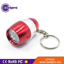 Passed CE RoHS test nano light miniature tiny flashlight keychain