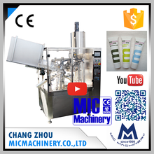 Micmachinery germ-free MIC-R60 small face wash and hand cream tube heating filling sealing machine