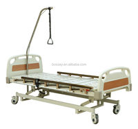 BOSSAY Electric Hospital Bed with Three Functions ABS Head & Foot Board