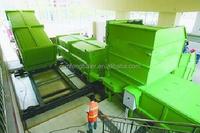 Box type large size living rubbish compress machine