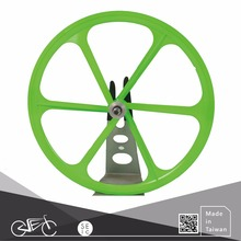 Bicycle Wheel 700C 6 blade spokes fixie bike wheels