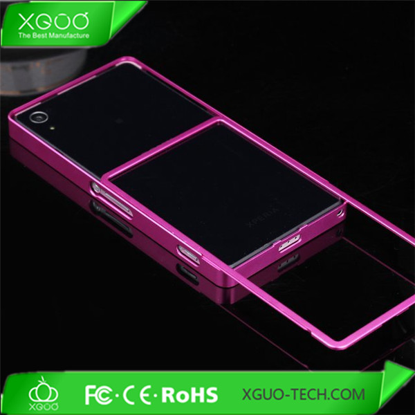 luxury aluminum bumper for sony xperia z2