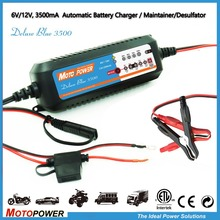 6V 12V Automatic Smart Battery Charger