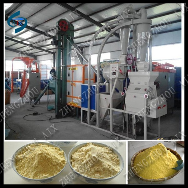 12t/day corn flour mill plant, automatic maize flour milling plant