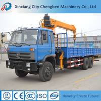 Lorry and Construction Trailer Container Lift Crane