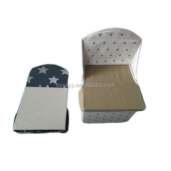 Modern Poufs / Ottomans Headrest Fabric Sofa Foldable Ottoman
