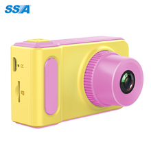 Promotion gift Fashion design and colorful picture and video function 2 Inch TFT IPS LCD 720p 8MP Kids Camera
