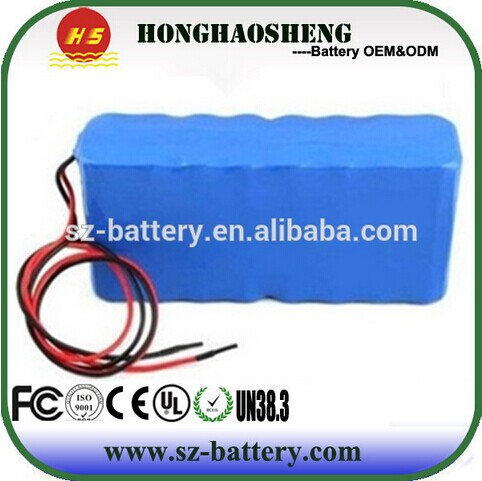 4s5p High quality rechargeable lithium ion battery 12v 17ah li-ion battery pack 18650