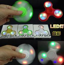 China low price high quality bluetooth speak fidget led light spinner