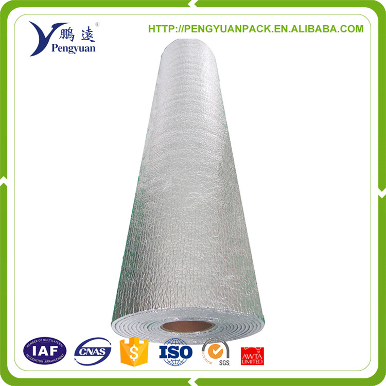 perforated aluminum foil backed glass wool foam insulation