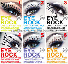 NEW Rhinestone Eye Rock crystal eye tattoos sexy lolita rocker makeup chic