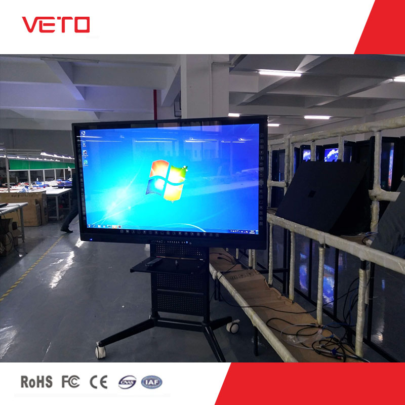 70 inch LCD electronic interactive white board from shenzhen veto