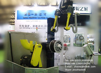 Automatic retreading machine recycling tire- computerized tire buffer
