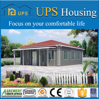 Construction & Real Estate easy assembled and economic prefabricated house for big family living