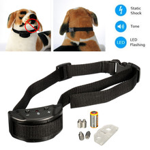 2016 New Arrival Anti Bark Stop Controller No Barking Remote Electric Shock Vibration Dog Pet Training Collar
