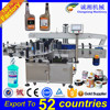 Factory direct sales PLC controlled automatic double sides labeling machine,flat labeling machine