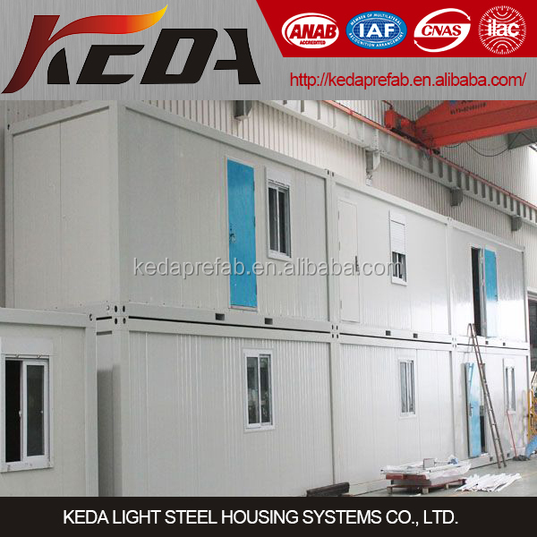 Portable Prefabricated House Container Used As Home, Office, Dormitory, Ablution, Toilet