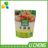 Manufacturer wholesale colorful printing kraft paper doypack for food packing
