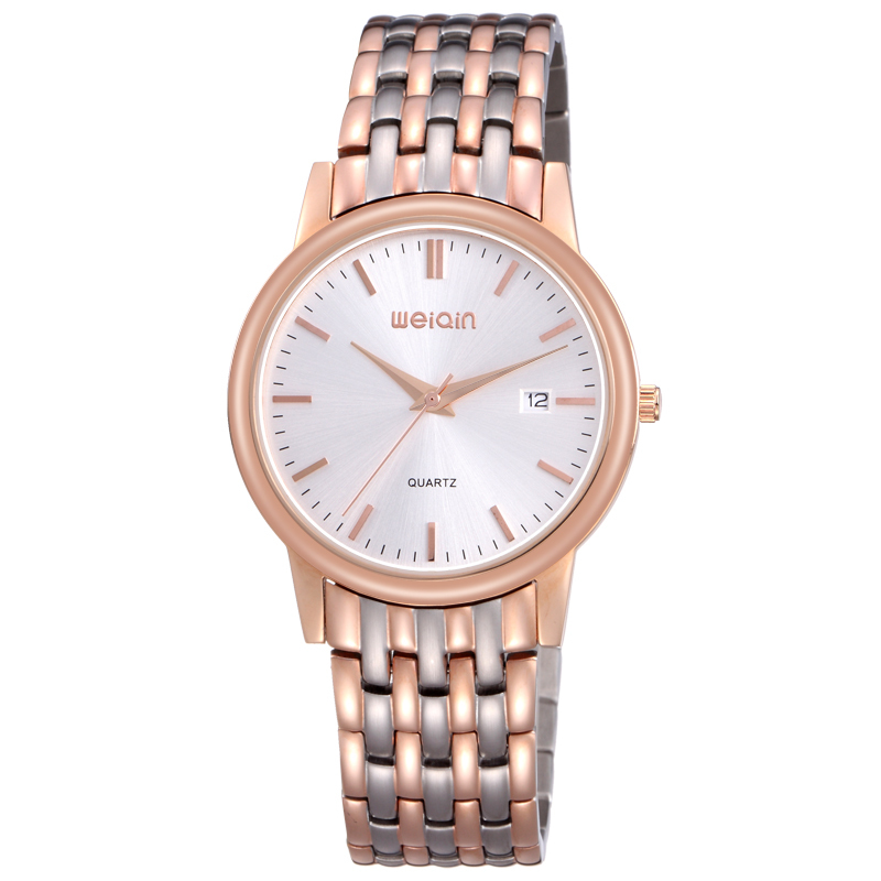 2014 new models luxury rose gold men's stainless steel watch high quality