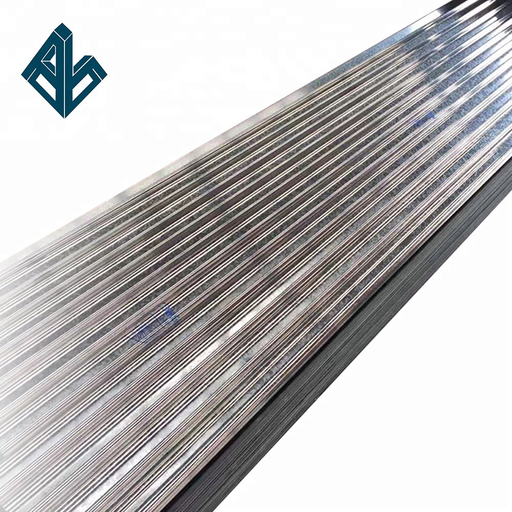 China <strong>manufacturer</strong> Aluzinc Coated Ribbed GL Steel Roof Panels