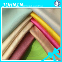 china factory direct sale cheap polyester matt nontwist satin fabric woven yarn dyed satin fabric for wedding decoration