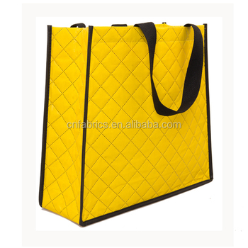 Ultrasonic Embossed Nonwoven Bag