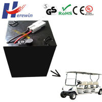 high power 48v 60ah LiFePO4 customized power battery pack for scenic car /sightseeing bus,golf cart