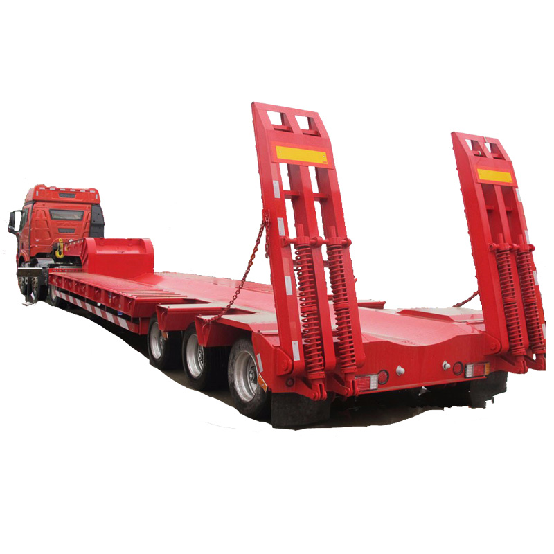 60TON 3 Axles Heavy Equipment Transport