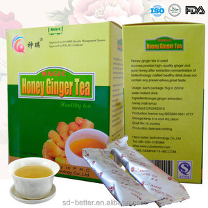FDA approved Ginger Honey Tea, Chinese Ginger Tea
