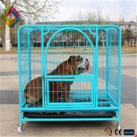 Pet dog cage Square Cage Large dog