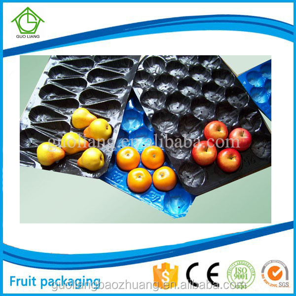 Environmentally Friendly Packaging Customized Design Plastic Fruit Tray Ideas
