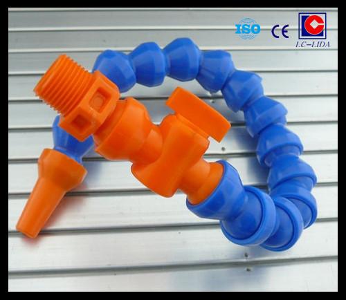 Customed flexible machine coolant hose view