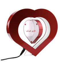 heart shape LED magnetic levitation device floating display device