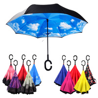 Reverse Double Layer Promotion Inverted Umbrella