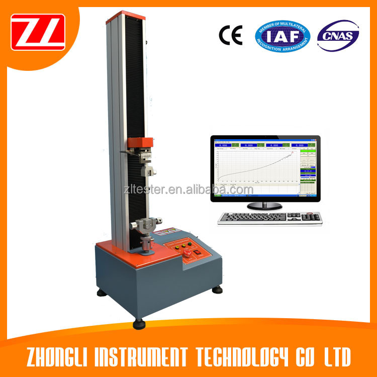 Computer Control Tensile Test Equipment for Plastic Film