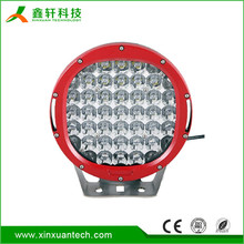 "9 inch led work light 96w 9"" IP67 waterproof led driving light with spot switch to flood cover"