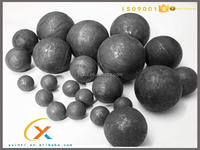 Alloyed chromium Casting Grinding Steel Balls With Various Sizes
