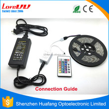 alibaba best sellers 5050 flexible waterproof rgb led strip 24v 12V for outdoor Lighting