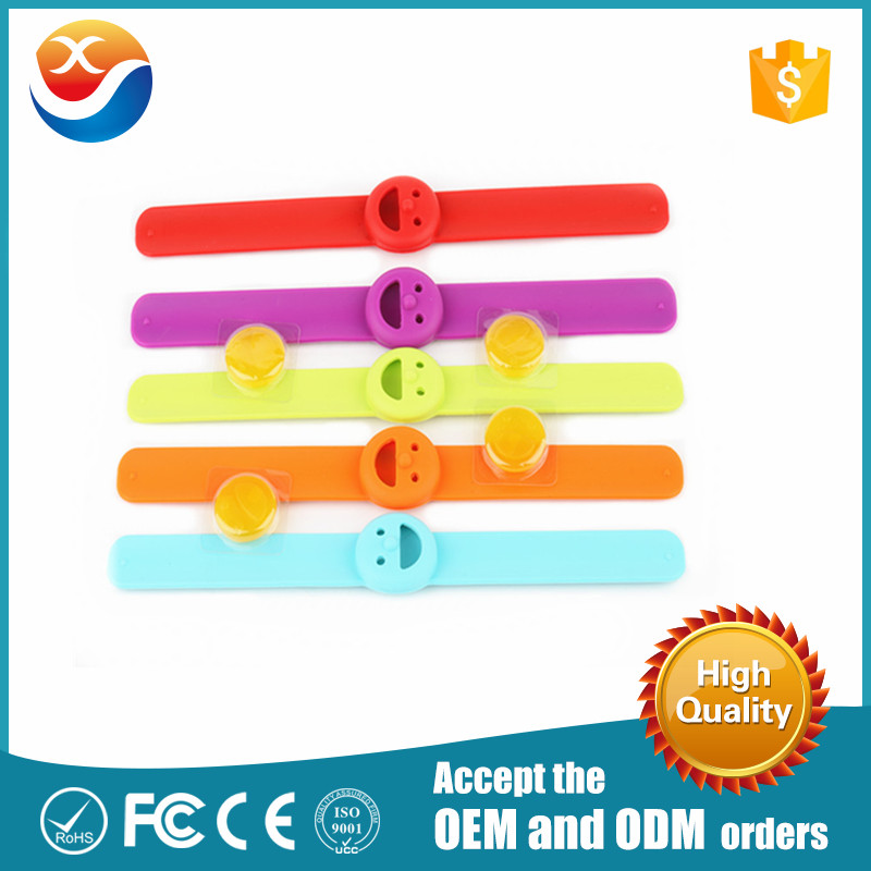 New Arrived Anti Mosquito Slap Band Silicone Bracelet