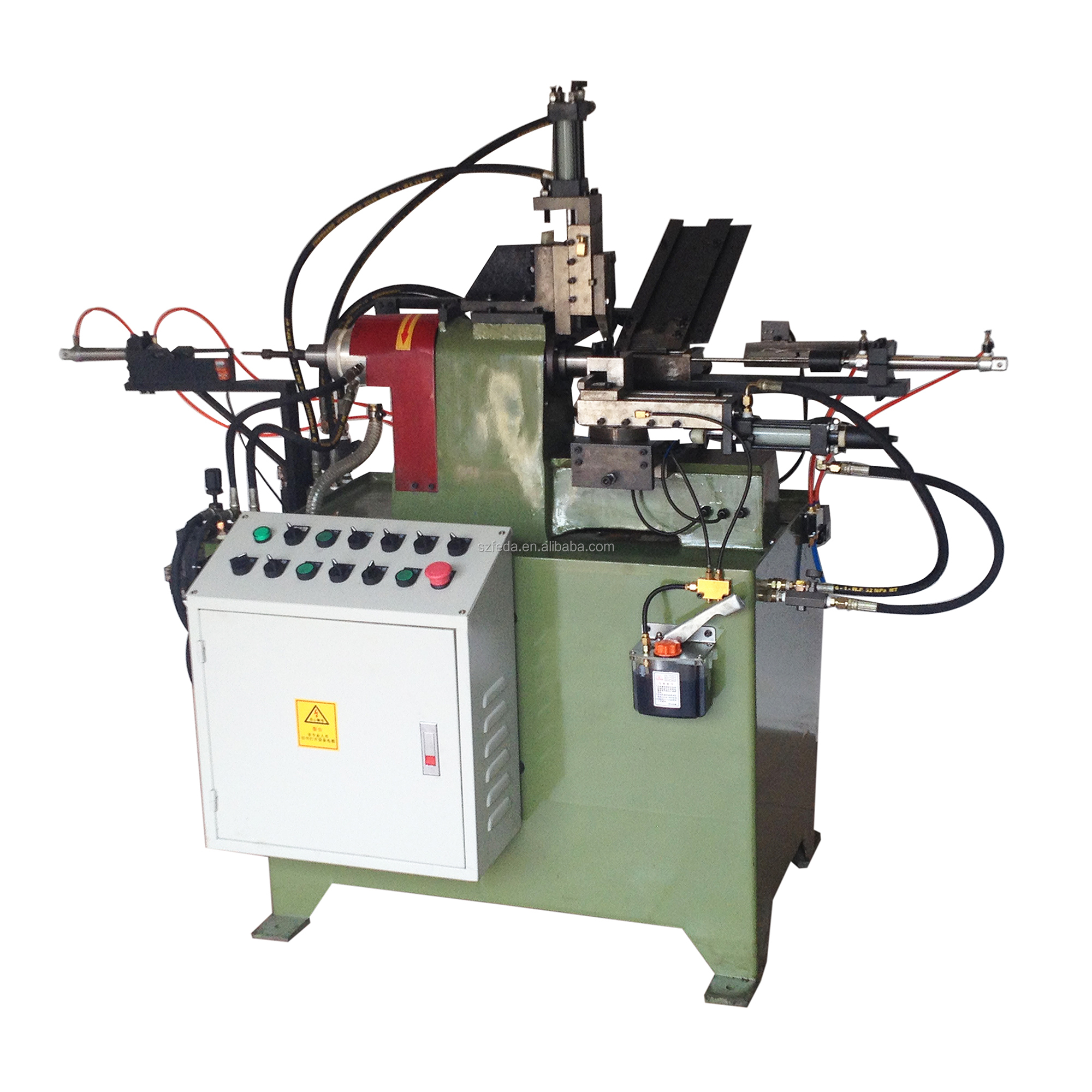 FEDA hydraulic chamferring machine cutting machine suppliers high speed turning machine