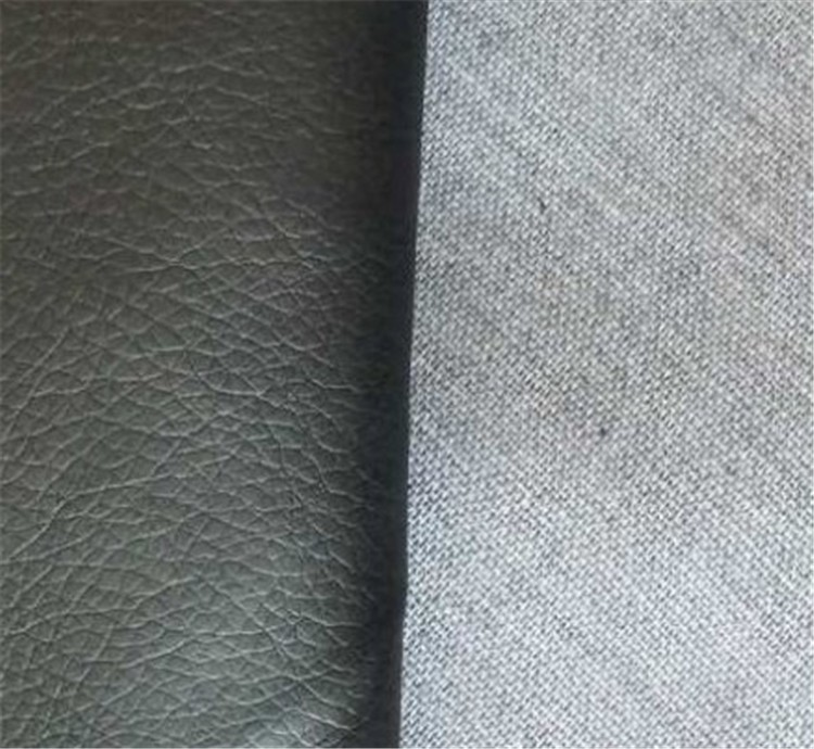 New design Good hand-feeling pu artificial leather PU leather for sofa
