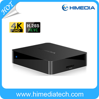 Himedia New Arrival Q1 Android TV BOX Quad Core Kodi 15.2 Fully Loaded Network Player