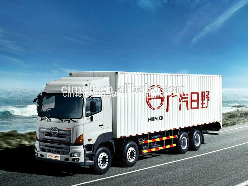 CIMC Brand HINO 8*4 ton Lorry/Cargo Truck for hot sale